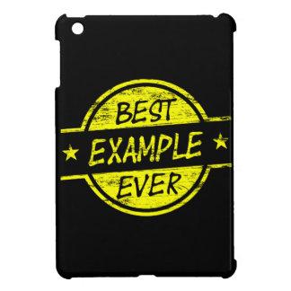 Best Example Ever Yellow iPad Mini Case