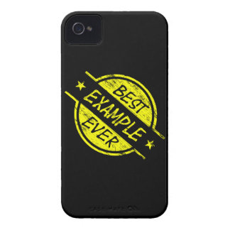 Best Example Ever Yellow iPhone 4 Cases