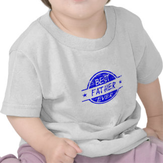 Best Father Ever Blue.png Tee Shirts