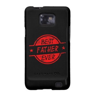 Best Father Ever Red Samsung Galaxy SII Case