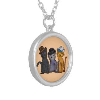 Best Feline Friends Custom Necklace