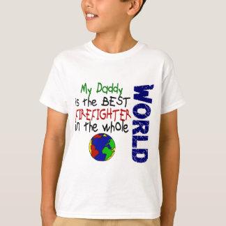 Best Firefighter In World 2 (Daddy) T-Shirt