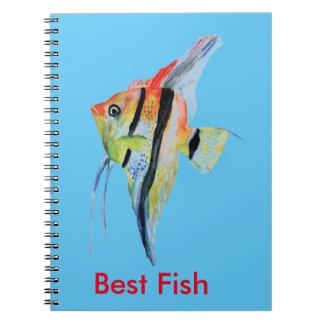 Best Fish Photo Notebook