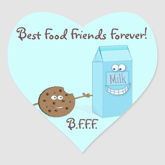 Best Food Friends Forever Sticker