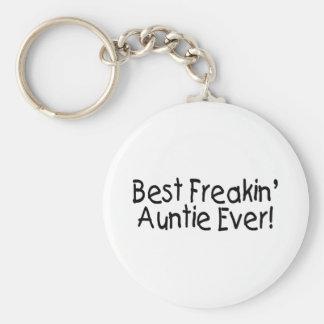 Best Freakin Auntie Ever 2 Key Ring