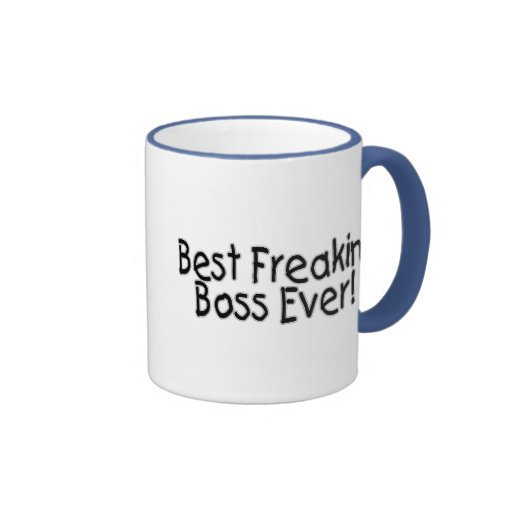 Best Freakin Boss Ever Coffee Mugs Zazzle