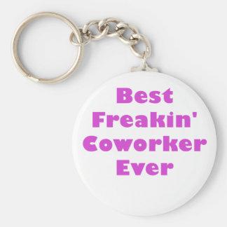Best Freakin Coworker Ever Key Ring