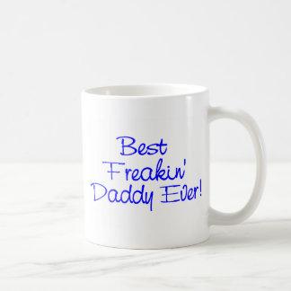 Best Freakin Daddy Ever 2 Basic White Mug