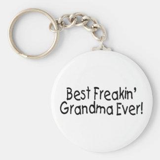 Best Freakin Grandma Ever 2 Key Chain