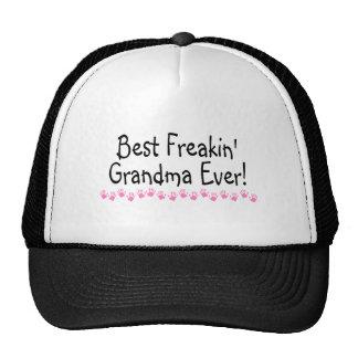 Best Freakin Grandma Ever Mesh Hat