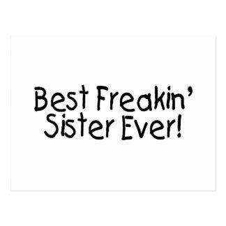 Best Freakin Sister Ever 2 Postcard