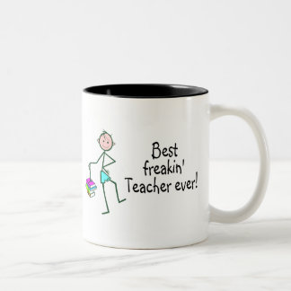 Best Freakin Teacher Ever Mug