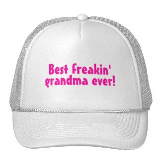 Best Freaking Grandma Ever Pink Hat