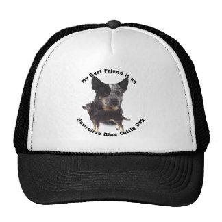 Best Friend Australian Blue cattle Dog Trucker Hat