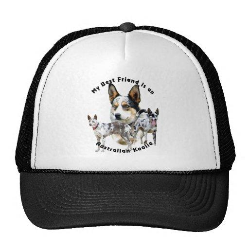 Best Friend Australian Koolie Merle Hats