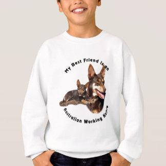 Best Friend Australian Working Kelpie RED Tan Sweatshirt