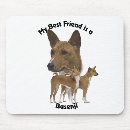 Best Friend Basenji Mouse Mat
