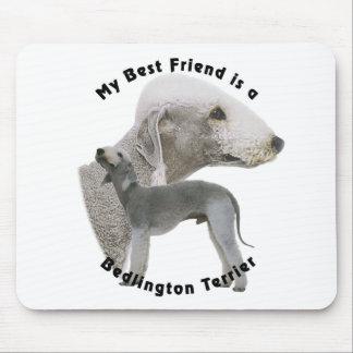 Best friend Bedlington Terrier Mouse Pad