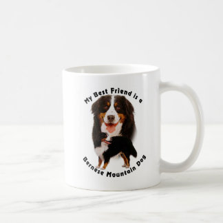 Best Friend Bernese Mountain Dog Coffee Mug