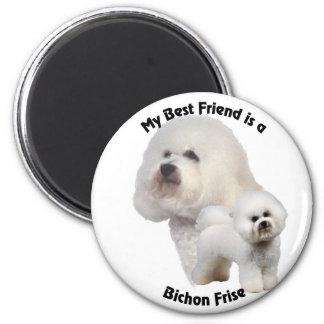 Best Friend Bichon Frise Magnet