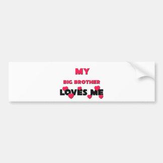Best Friend Big Brother Bumper Sticker