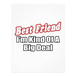 Best Friend...Big Deal Full Color Flyer