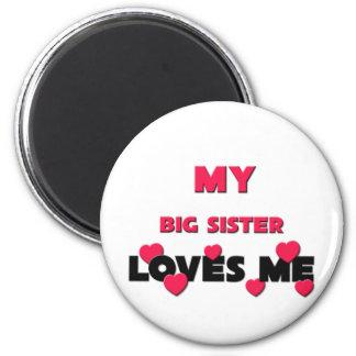 Best Friend Big Sister Refrigerator Magnets