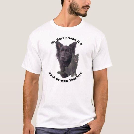 Best Friend Black German Shepherd T-Shirt