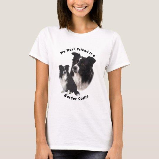 Best Friend Border Collie T-Shirt