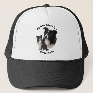 Best Friend Border Collie Trucker Hat