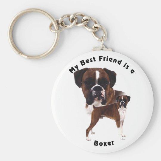 Best Friend Boxer Key Ring