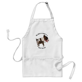 Best Friend Bull Terrier Aprons