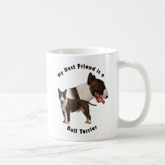 Best Friend Bull Terrier Coffee Mug