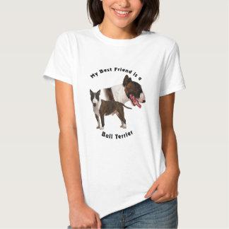 Best Friend Bull Terrier Tshirts