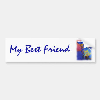 Best Friend bumpersticker Bumper Sticker