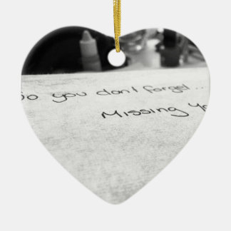 Best Friend Ceramic Heart Decoration