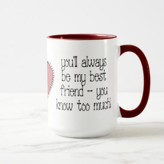 Best Friend Coffee Mug