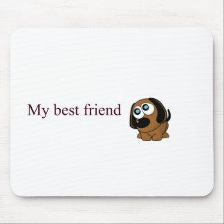 Best friend dog mousepads