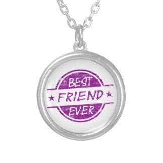 Best Friend Ever Purple Necklace