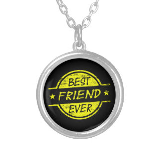 Best Friend Ever Yellow Necklace