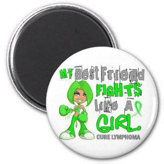 Best Friend Fights Like Girl Lymphoma 42.9.png Magnet