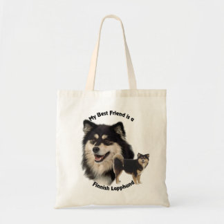 Best Friend Finnish Lapphund Tote Bag
