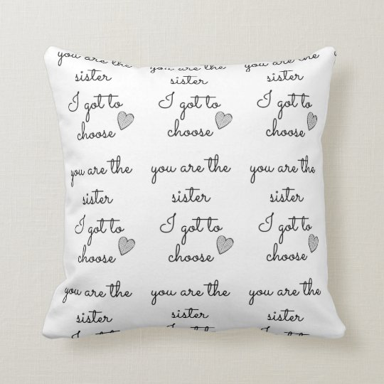 """""""BEST FRIEND FOREVER PILLOW"""" DIFFERENT SIDES CUSHION"""
