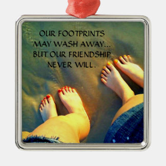 Best Friend Friendship Poem Christmas Ornament