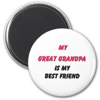 Best Friend Great Grandpa Refrigerator Magnets