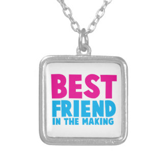 BEST FRIEND in the making Custom Necklace