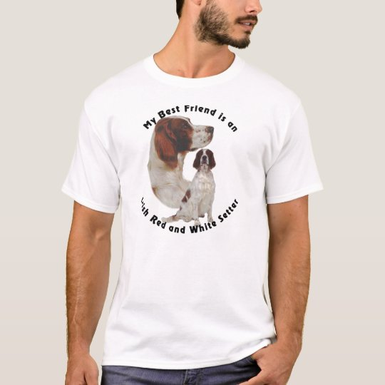 Best Friend Irish Red and White Setter T-Shirt