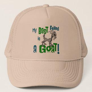 Best Friend is a Goat Trucker Hat