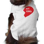 Best Friend Matching Dog and Human Sleeveless Dog Shirt