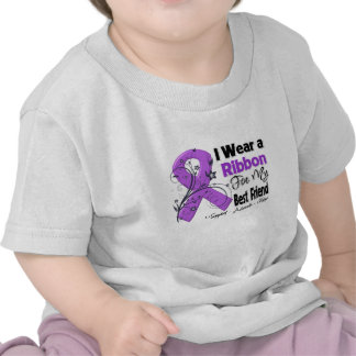 Best Friend - Pancreatic Cancer Ribbon Tee Shirts